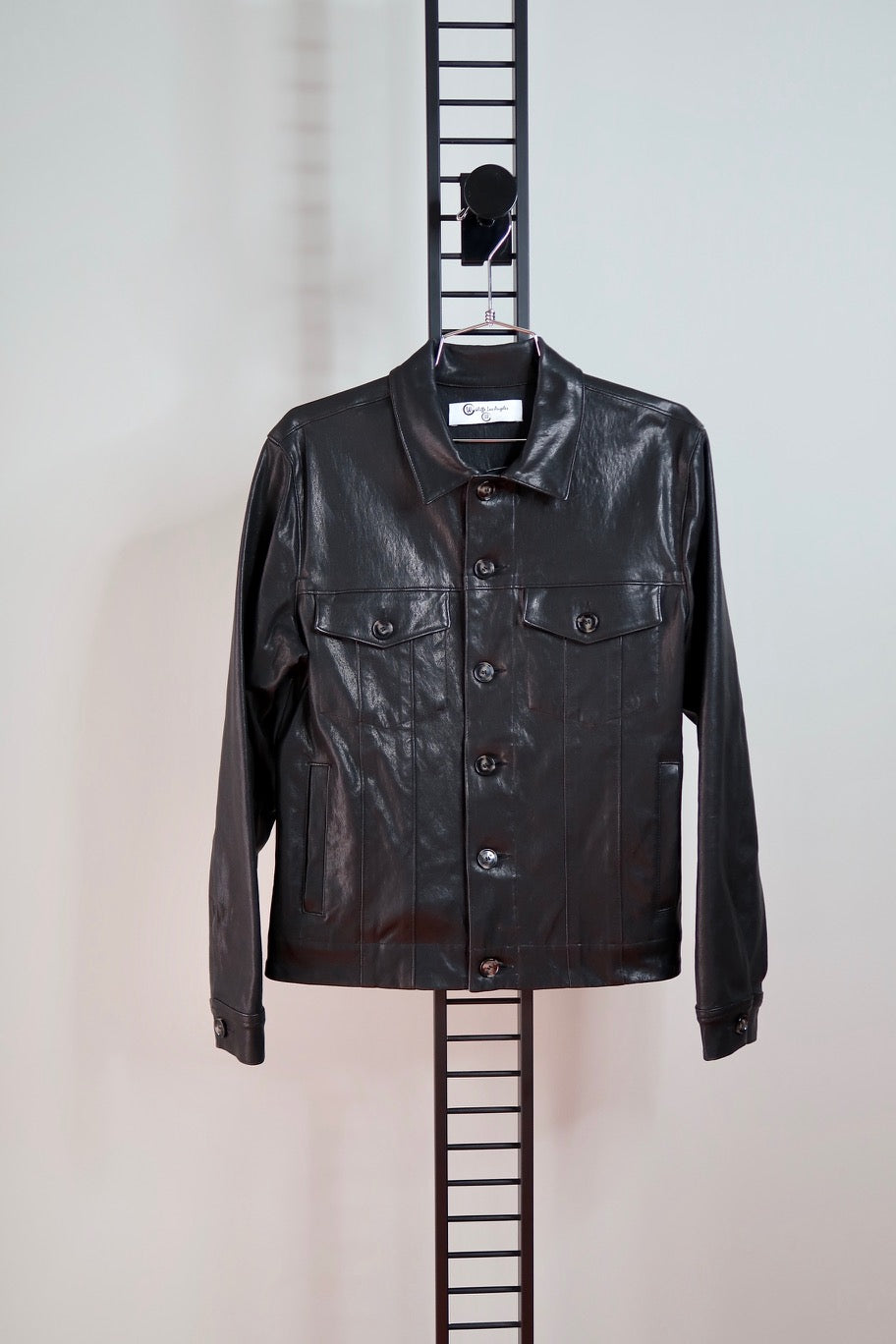 ANTHONI LAMBSKIN SHIRT JACKET