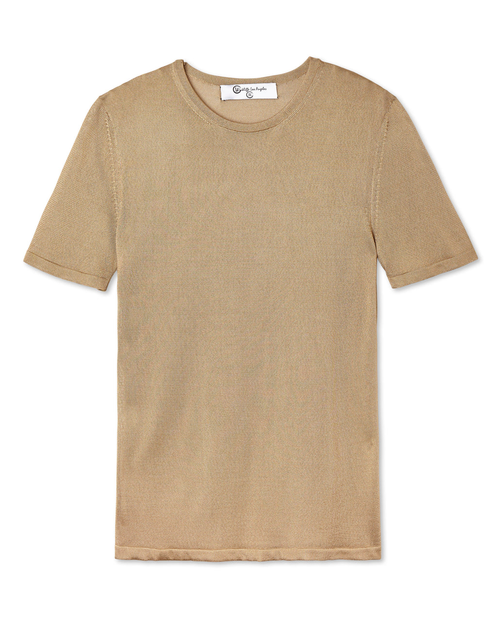 SALVATORE SHEER CREW NECK