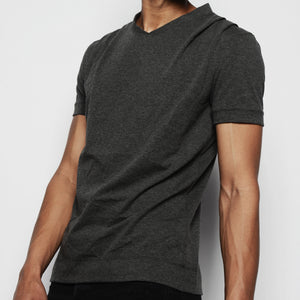 PROSPER DRAPED SHOULDER SHIRT