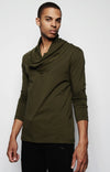 STEPHAN DRAPED SHIRT