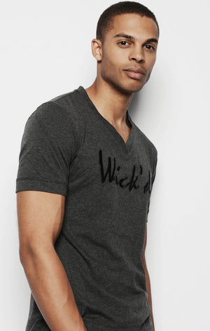 WICKED EMBROIDERED SHIRT