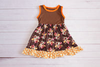 Gobble Gobble Sleeveless Dress