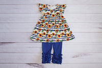 Sunflower Garden Pant Set
