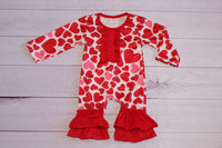 All My Hearts Romper