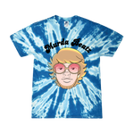 Murda Beatz Blue Tie Dye Banana Split T-Shirt