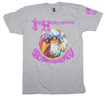 Jimi Hendrix Are You Experienced Heather T-Shirt