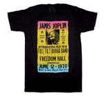 Janis Joplin Freedom Hall Poster T-Shirt