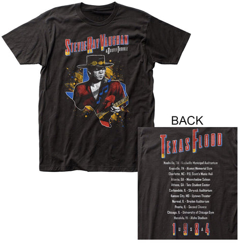 Stevie Ray Vaughan 1984 Tour T-Shirt