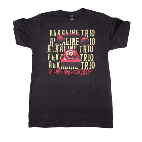 Alkaline Trio Is This Thing Cursed Repeater T-Shirt