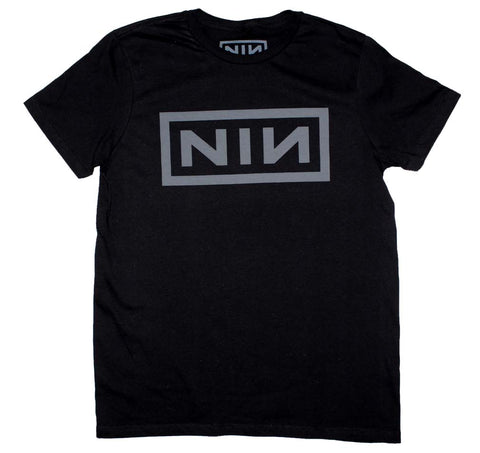 Nine Inch Nails Grey NIN Logo T-Shirt