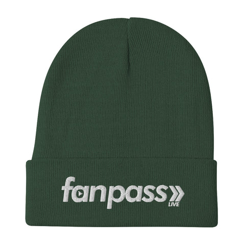 Fan Pass Embroidered Beanie