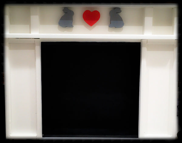 Bunny Fireplace ~ Replica