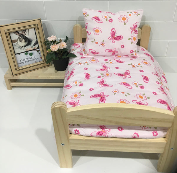 Pretty Pink Butterfly Bedding Set
