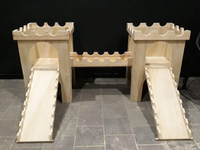 Double King K Castles with Bridge and Ramps