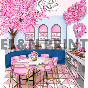 Blossoms at Brompton Road - Wall Art