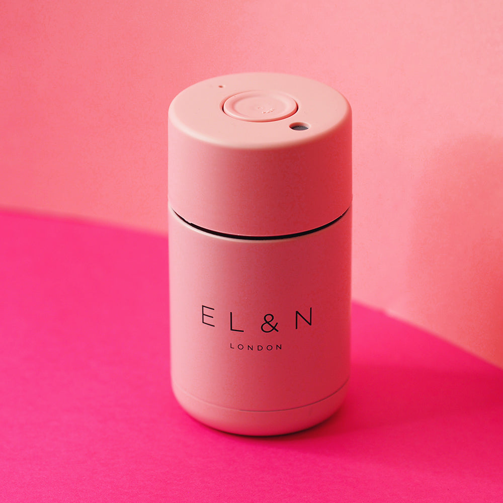 EL&N Large Flask in Pastel Pink - 340ml