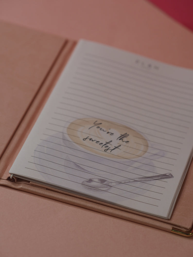 EL&N Faux Leather Notepad