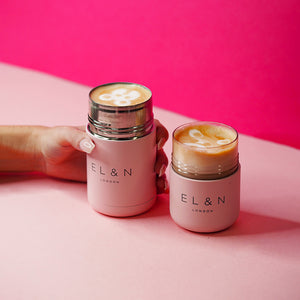 EL&N Large Flask in Pastel Pink - 295ml