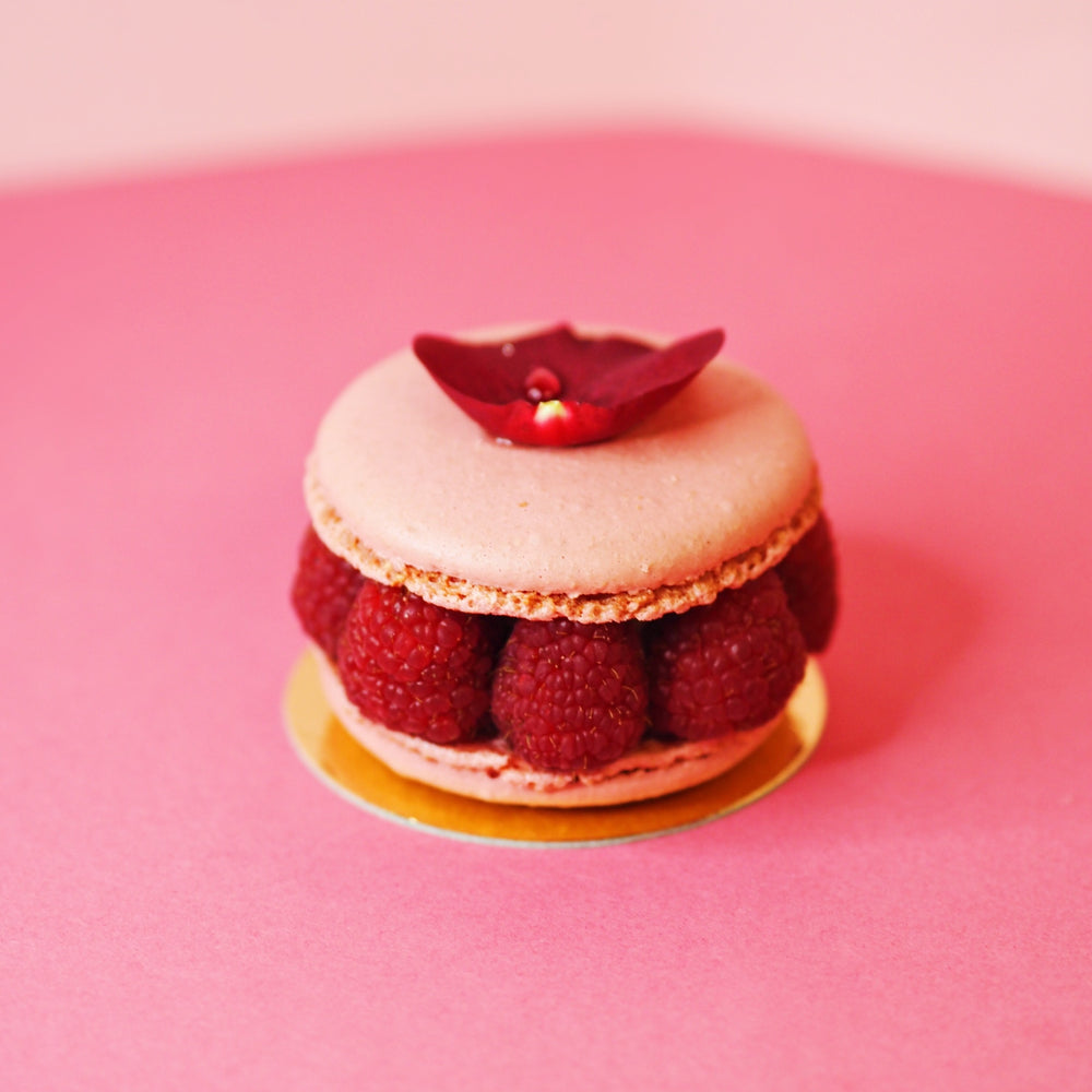 Rose Macaron - Box of 9, 12 or 15