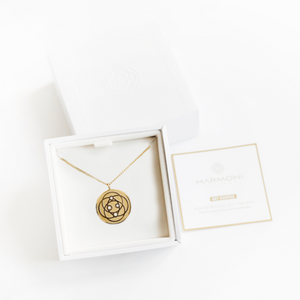 Harmoni Pendant Small (20mm) - 18K Gold Plated