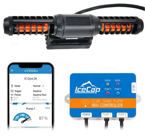 Icecap Gyre 2K Flow Pump with Dual WiFi Controller
