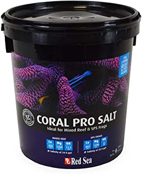 Red Sea Coral Pro Salt and Red Sea Sea Salt