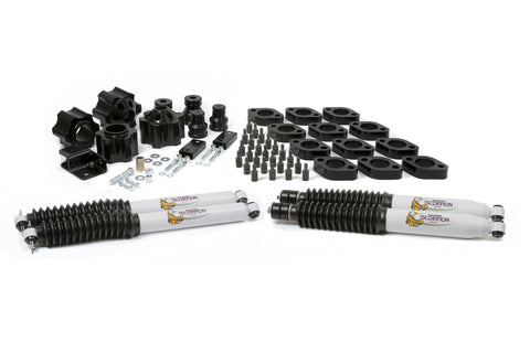 07-18 Jeep Wrangler JK 4 Inch Combo Kit Fits Automatic Transmissions Only Daystar