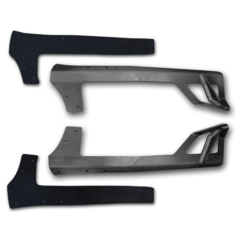 07-15 Jeep JK Brow Light Mount E-Series Pro RIGID Industries
