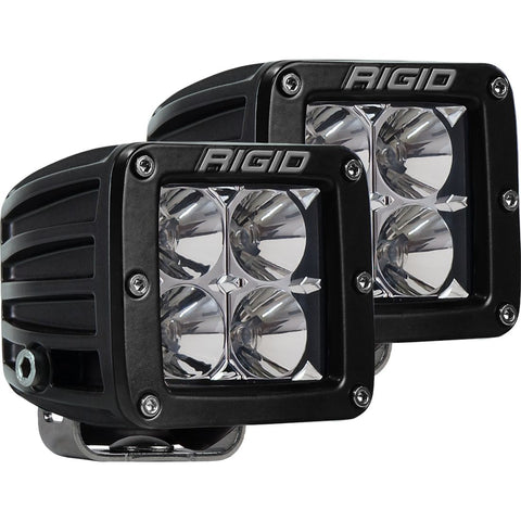 Rigid Industries D-Series PRO Flood Surface Mount Black 2 Lights