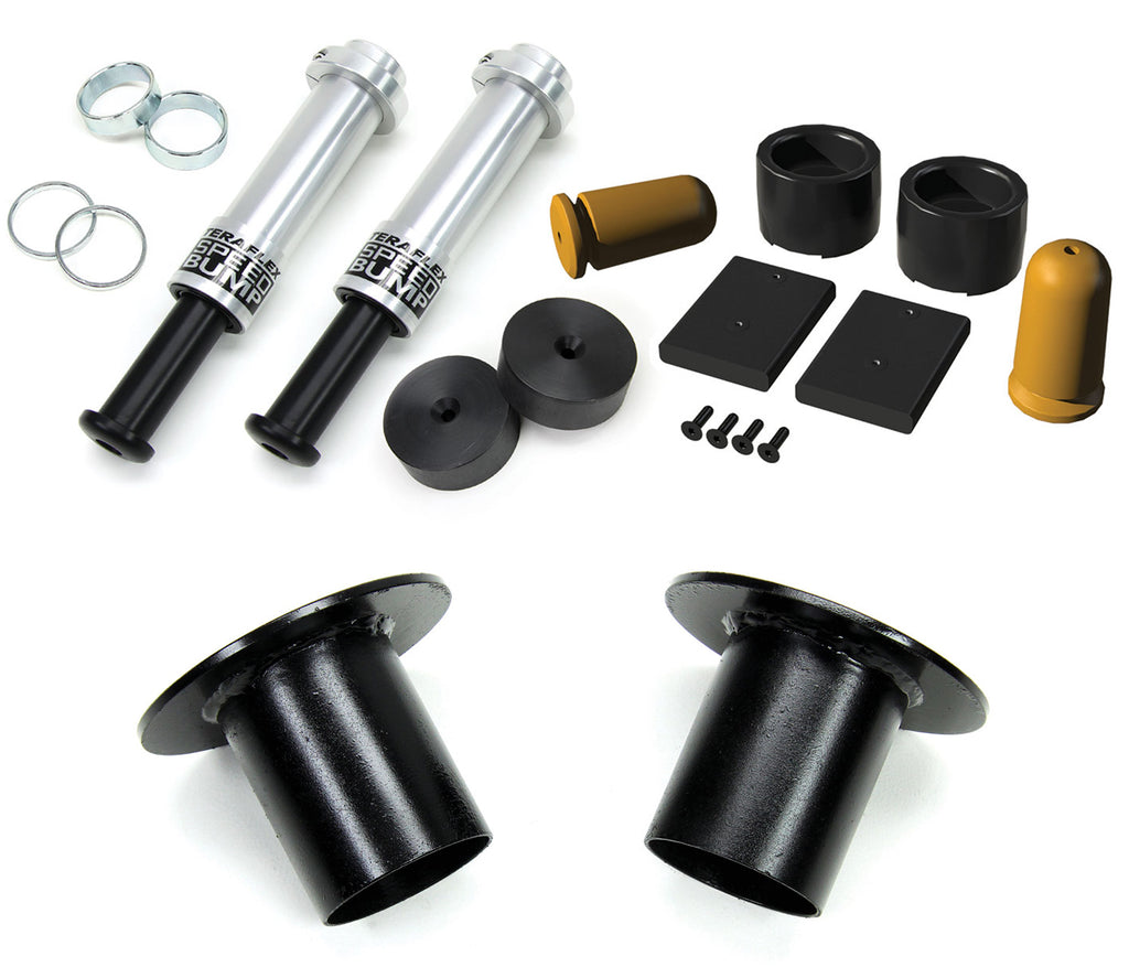 Jeep JK/JKU 3-3.5 Inch Lift SpeedBump Bump Stop Kit All 4 07-18 Wrangler JK/JKU TeraFlex