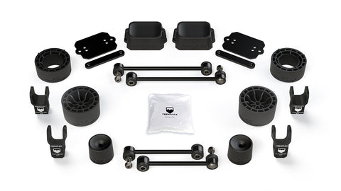 Jeep JL 2 Door Rubicon 2.5 Inch Performance Spacer Lift Kit w/ Shock Extensions 18-Pres Wrangler JL TeraFlex