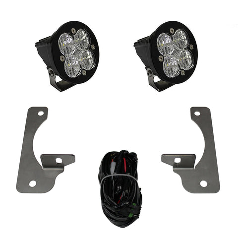 Baja Designs Jeep JK LED Light Kit Squadron-R Sport