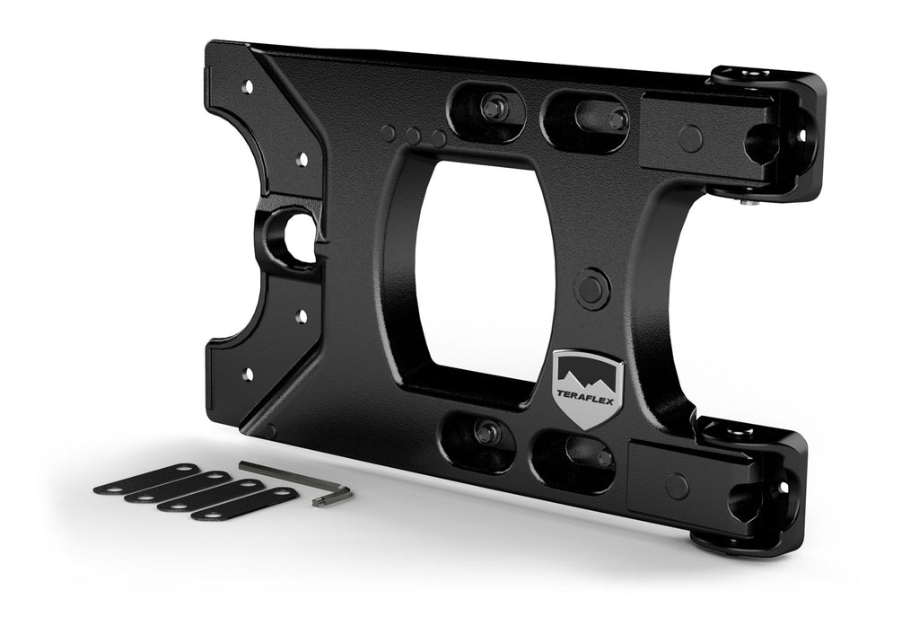 Jeep JK/JKU Alpha HD Hinged Spare Tire Carrier Kit 07-18 Wrangler JK/JKU TeraFlex