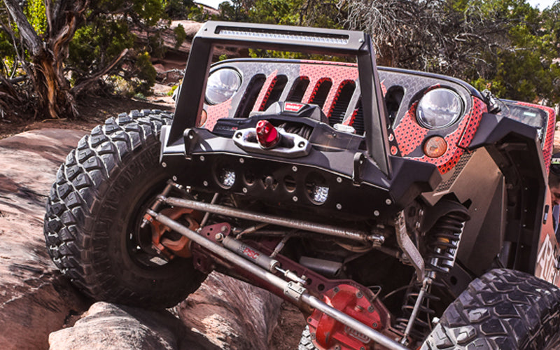 Artec Industries Jeep JK Aluminum Front Bumper Rock Guard