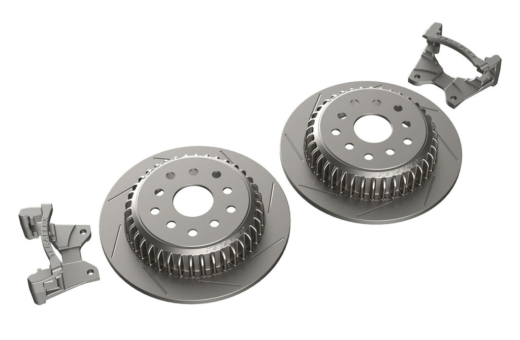 Jeep JK/JKU Rear Performance Slotted Big Rotor Kit 07-18 Wrangler JK/JKU TeraFlex