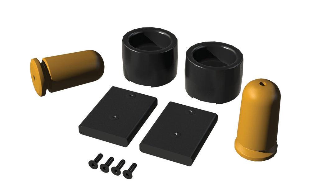 Jeep JK/JKU 2.5-3.5 Inch Lift Rear SpeedBump Bump Stop Kit Pair 07-18 Wrangler JK/JKU TeraFlex