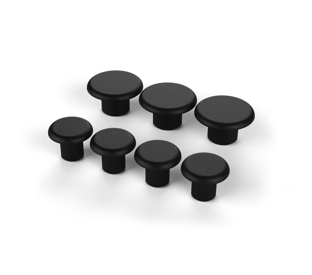 Jeep JK/JKU Alpha Hinged Spare Tire Carrier Hole Cap Kit 07-18 Wrangler JK/JKU TeraFlex