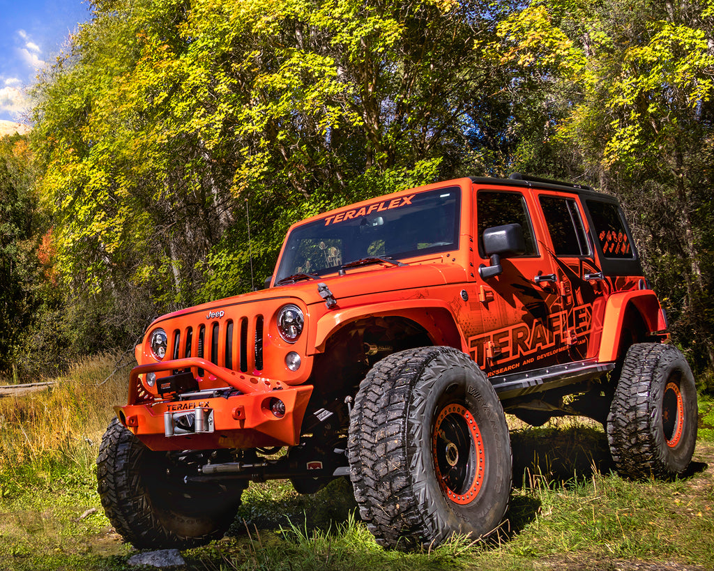 Jeep JKU 4 Door Alpine CT6 Suspension System 6 Inch Lift w/ Falcon 3.2 Shocks 07-18 Wrangler JKU TeraFlex