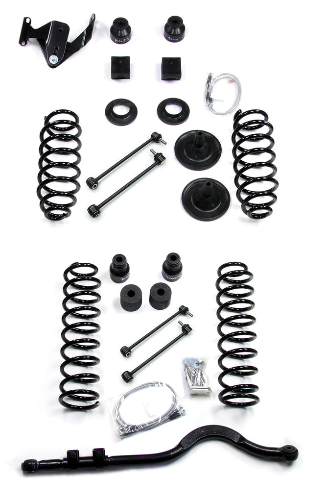 Jeep JKU 4 Door 4 Inch Lift Kit w/ Track Bar No Shocks 07-18 Wrangler JKU TeraFlex