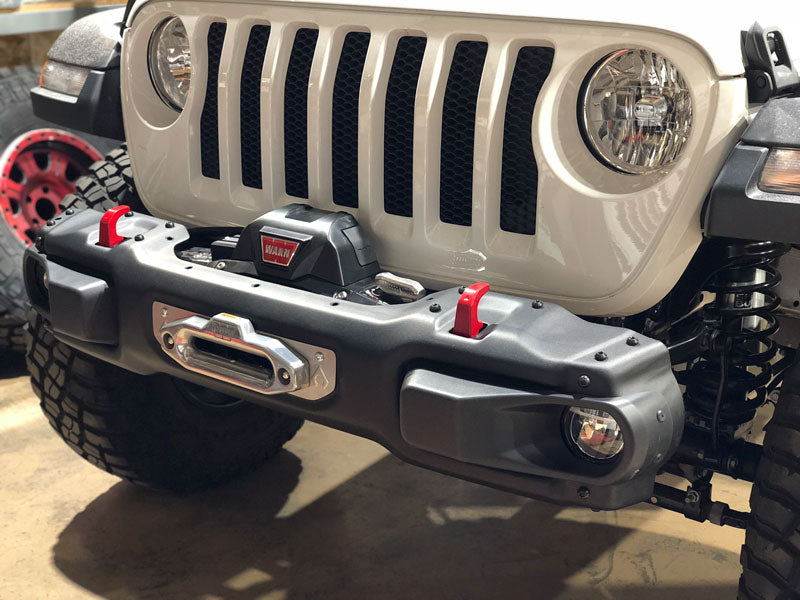 Artec Industries JL Steel Bumper Winch Plate