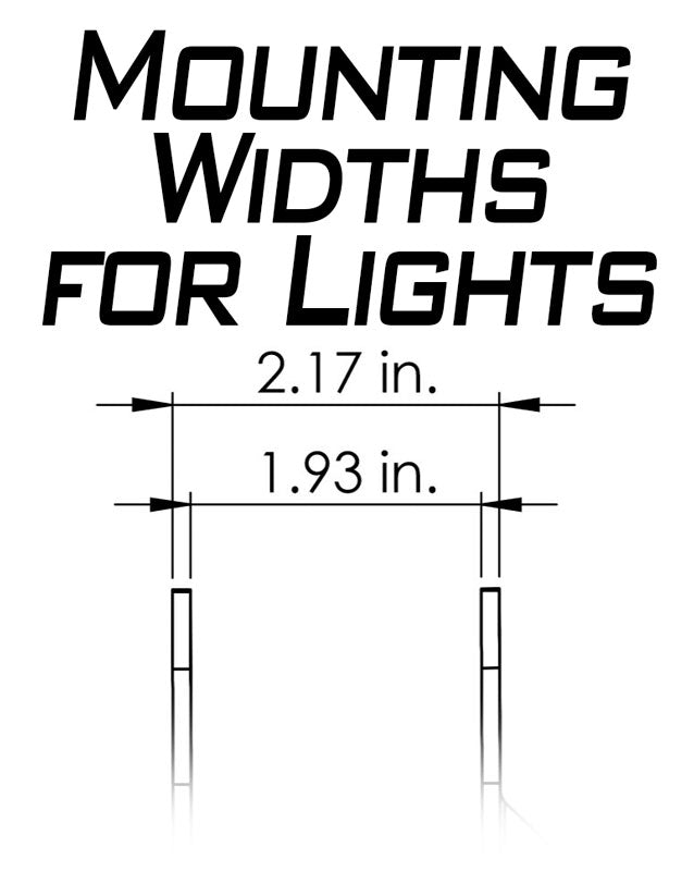 Artec Industries JL A-pillar Dual LED Cube Light Mounts