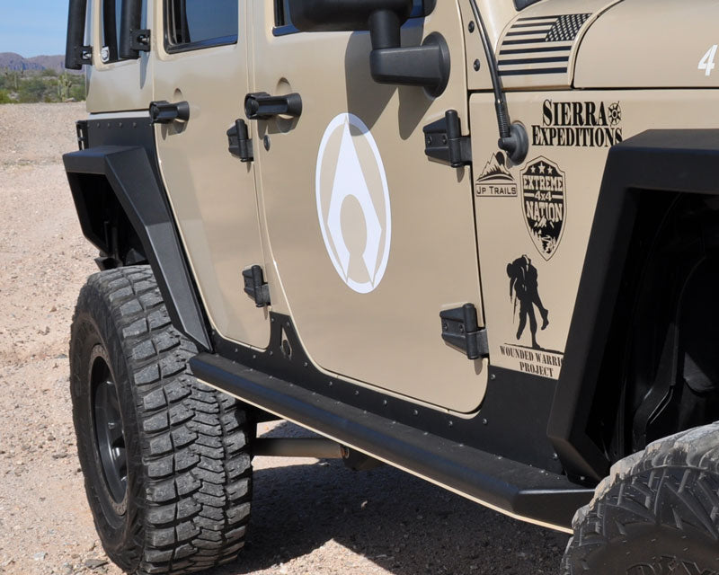 Artec Industries Nighthawk JK Sliders JKU 4 Door