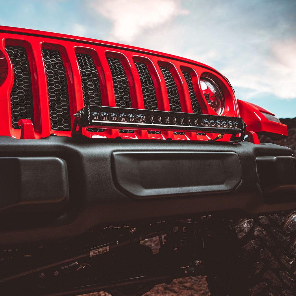 2018 Wrangler Jl Straight Bumper Mount Fits 20 Inch E-Series Pro, Radiance Plus, Or SR-Series Pro RIGID Industries