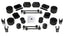 Jeep JLU 4 Door Sport/Sahara 2.5 Inch Performance Spacer Lift Kit w/ Shock Extensions 18-Pres Wrangler JLU TeraFlex