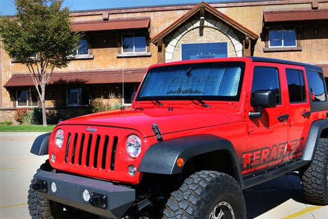Jeep JK Windshield Sun Shade 07-18 Wrangler JK TeraFlex