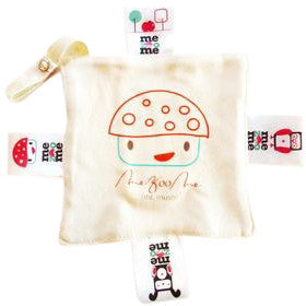 Mr Mush Print Organic Pully Mully Pacifer Holder