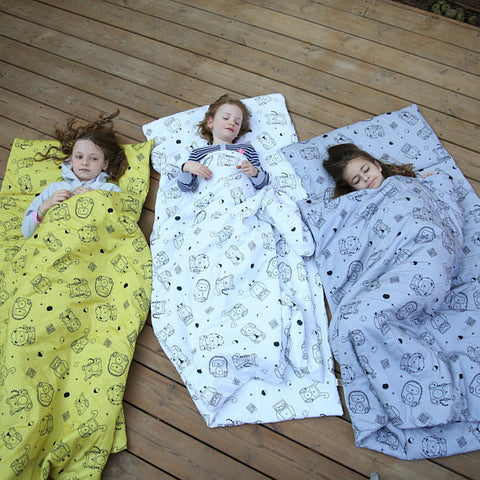 Organic Minimal Print Kids Nap Mat (3 Color Options)