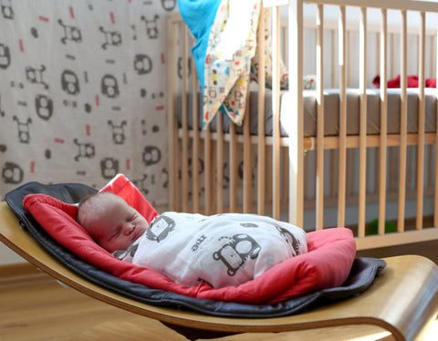 Muslin Swaddle Blanket w/ storage bag - Mezoome Designs