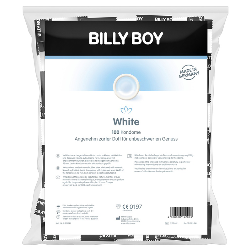 Billy Boy White 100 Kondome