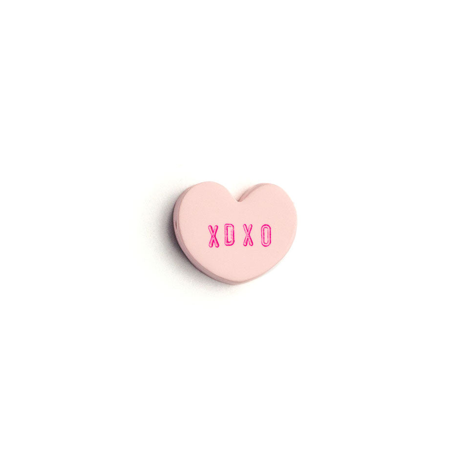 Small Conversation Heart Bead